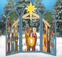 Large 3 Arch Nativity Woodcraft Pattern