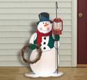 Lantern Snowman Woodcraft Pattern