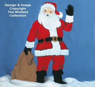 Life-Size Santa Woodcraft Pattern