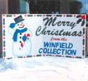 Christmas Yard Card Plan