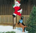 Treed Santa Woodcraft Pattern