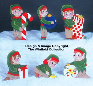 6 Helpful Elves Woodcraft Pattern