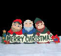 Holiday Greeting Woodcrafting Pattern