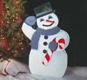 Snowman Woodcrafting Pattern