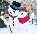 Snowy Hug Woodcrafting Pattern