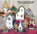 Decorative Birdhouses Pattern Set #3
