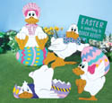 Silly Easter Ducks Woodcraft Pattern