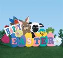 Easter Yard Greeting Woodcraft Pattern