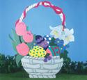 Large Easter Basket Woodcraft Pattern
