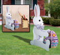 Medium & Small Rabbits Woodcraft Pattern