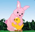 Easter Hugs Woodcraft Pattern