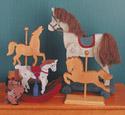 9 Folkart Horses Woodcraft Pattern