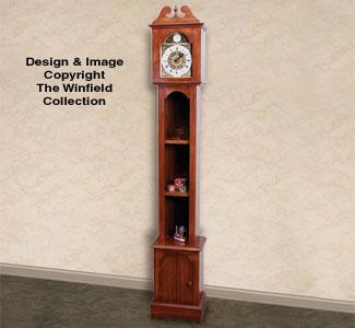 All Decorative Indoor Grandfather Clock Wood Plans