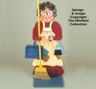 Harriet De Housemaid Woodcraft Pattern
