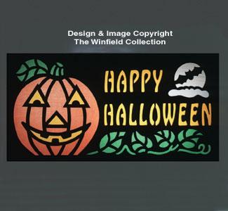 Halloween Yard Card Woodcraft Pattern