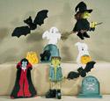 Haunted Halloween Woodcraft Pattern