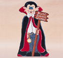Count Dracula Woodcraft Pattern