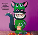 Dragon Trick Or Treater Woodcraft Pattern