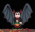 Bat Trick Or Treater Woodcraft Pattern
