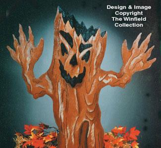 Haunted Tree Woodcraft Pattern