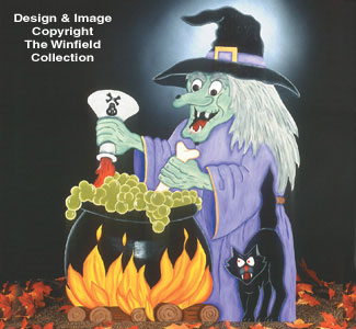 Witches Brew Woodcraft Pattern