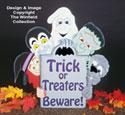 Halloween Gang Signs Woodcraft Pattern
