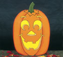 Giant Yard Pumpkin Woodcraft Pattern