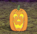 Large Yard Pumpkin Woodcraft Pattern