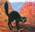 Huge Halloween Cat Woodcraft Pattern