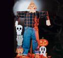 Scarecrow Heads Woodcraft Pattern