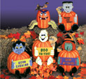 Dress Up Pumpkins Woodcraft Pattern
