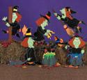 Wacky Witches Woodcraft Pattern