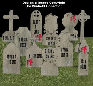 Gravestones #2  Woodcraft Pattern