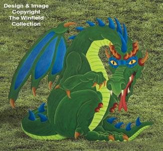 Yard Dragon Woodcraft Pattern