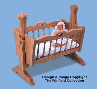 All Child Projects Doll Cradle Woodworking Plan