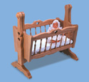Doll Cradle Woodworking Plan