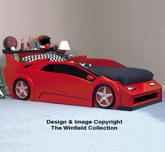 Sports Car Bed Woodworking Plan