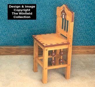 Kids Desk Chair Woodworking Plan