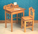 Flip - Top Desk & Chair Wood Plan