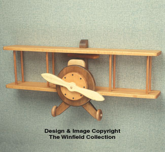 Airplane Shelf Woodcraft Pattern