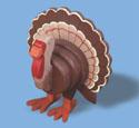 Layered Turkey Woodcraft Pattern