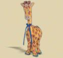 Layered Giraffe Woodcraft Pattern