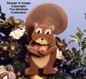 Layered Squirrel Woodcraft Pattern