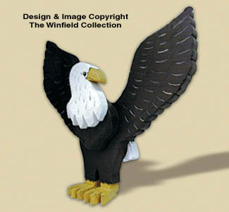 Layered Eagle Woodcraft Pattern