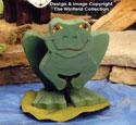 Layered Frog Woodcraft Pattern