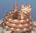 Layered Snake Woodcraft Pattern