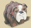 Layered Bulldog Woodcraft Pattern