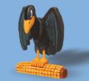 Layered Crow Woodcraft Pattern