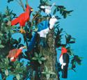 Layered Birds Pattern Set #2