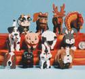 Miniature Layered Animals Pattern Set
